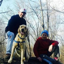 foster family for a service dog in training